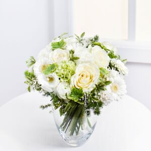 Romantic Bouquet in White Colours