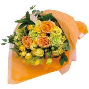 Bouquet in yellow and orange